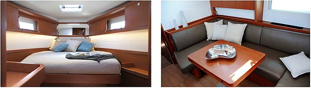 The new New Sense 46 Yacht from Beneteau - A complete range for pleasure yachting.