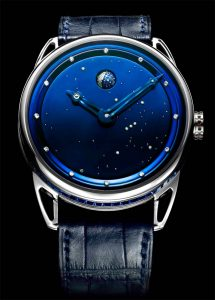The De Bethune DB25 s ladies Jewellery watch with spherical moonphase.