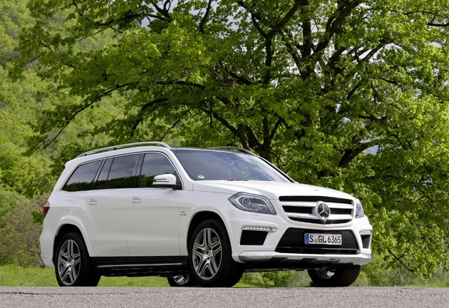 The new Mercedes-Benz GL 63 AMG - A blend of style and performance