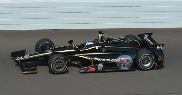 Jean Alesi is foiled by car technical problems at the Indy 500 race.