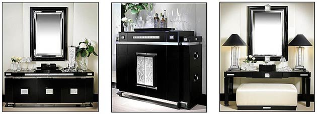 art deco inspired furniture. lalique introduces a luxurious collection of art deco inspired furniture p