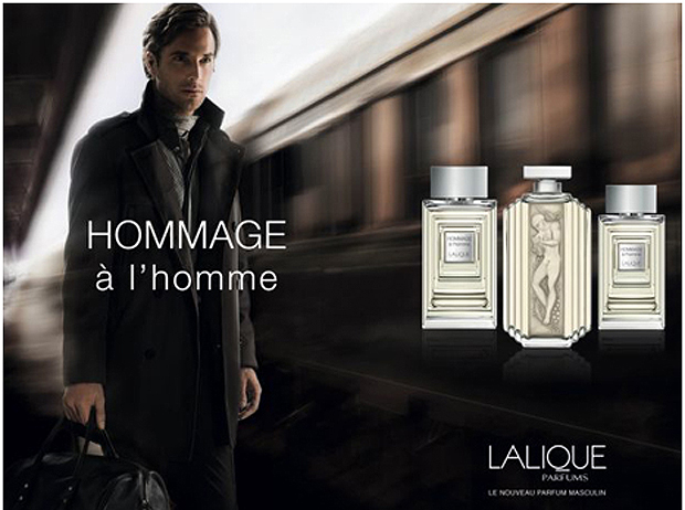 Lalique Hommage a l'homme created by Christine Nagel and Mathilde Bijaoui.