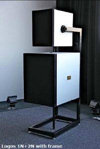 The New Goldmund Logos 1N and 2N Proteus Speakers.