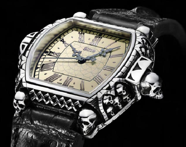 The Daniel Strom Memento Mori watch - Carpe Diem!