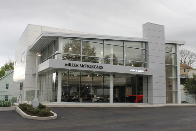 Grand opening event marks the arrival of McLaren Automotive in Greenwich, CT.