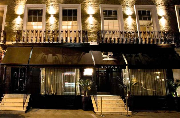 Nozomi, the famed Japanese restaurant in Knightsbridge London now offers Fine Gourmet Delivery.