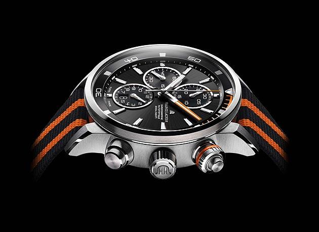 The Maurice Lacroix Ponto S divers chronograph wrist watch.