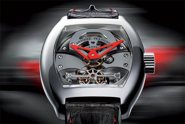 A Luxurious look at the Antoine Preziuso GTS Grand Tourbillon Sport.