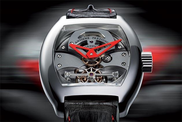A Luxurious look at the Antoine Preziuso GTS Grand Tourbillon Sport.