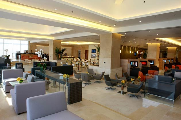 Royal Jordanian's Crown Class lounge at its Amman hub 1