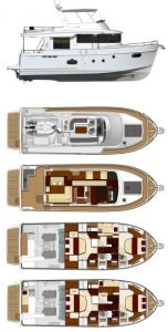Beneteau Swift Trawler 50 Provisional Specifications: