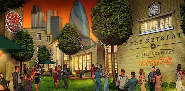 "The Brewery in London to Host ""The Retreat"", a VIP Sanctuary During the 2012 Olympics."