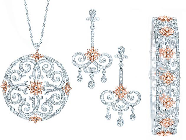 The Tiffany Enchant Jewellery Collection - Dazzling with the diamonds of a great legacy.