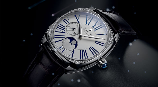 The Zenith Star Open and Zenith Star Moonphase ladies watches - An Anthem to Femininity.
