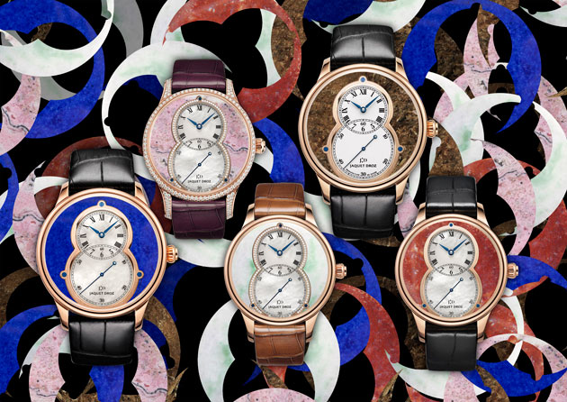 The Grande Seconde Mineral watch collection from Jaquet Droz.