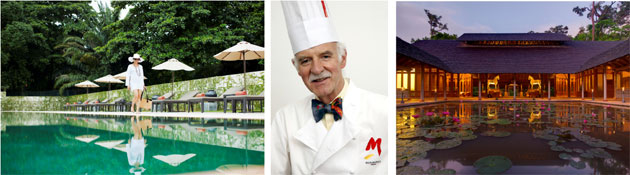 Iconic Chef Anton Mosimann OBE, to tantalise palates at the Club at Saujana in KL and Datai in Langkawi.