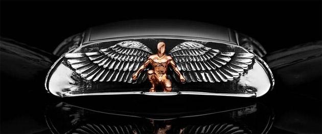 Daniel Strom unveils his third mystical work, the Angelus watch.