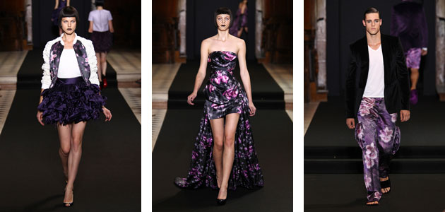 The Didit Hediprasetyo Couture Collection Fall/ Winter 2012-2013.