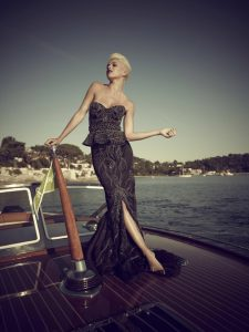 J Craft welcome the world most expensive Little Black Dress on board.