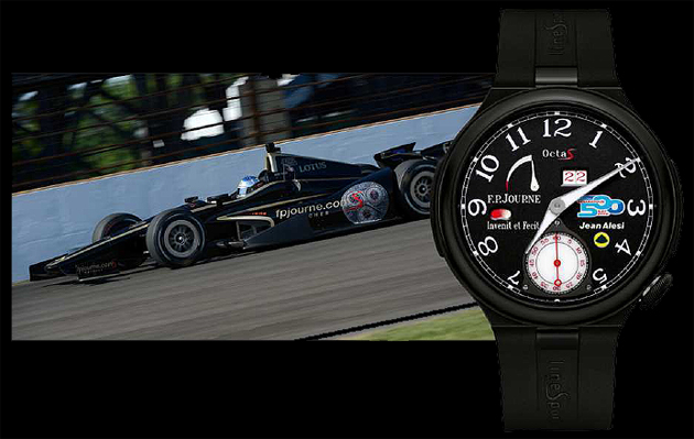 The F.P.Journe Octa Sport INDY 500 watch - A limited edition series of 99 in Black Aluminium.