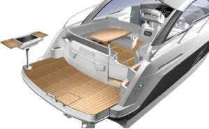 Because these Beneteau Gran Turismo Sport Cruisers have been studied to take full advantage of life in the open air, the copany have worked on improving comfort outside in these new versions for 2013.
