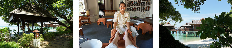 Our luxurious treatments at Spa Village
