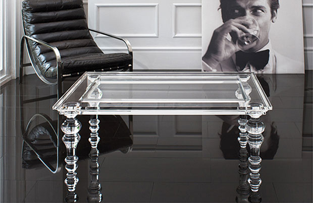 Royal Warranted Zone Creations introduce a collection of bespoke translucent luxury furniture.
