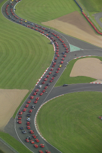Ferrari North Europe now has over 1000 cars registered to break the Guinness World Record for the Largest Parade of Ferrari Cars at 18:00 on Saturday 15th September during Ferrari Racing Days at Silverstone Circuit.