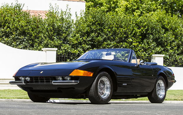 The 1973 Ferrari 365 GTB Daytona Spider