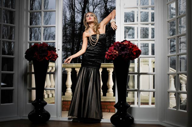 """Why Ariella Couture? """"It's elegance, beauty and simplicity,"""" says Creative Director Lana Marie Constantine. """"That translates effectively online and celebrities can trust that it will not be over exploited as every dress is a very limited edition""""."""