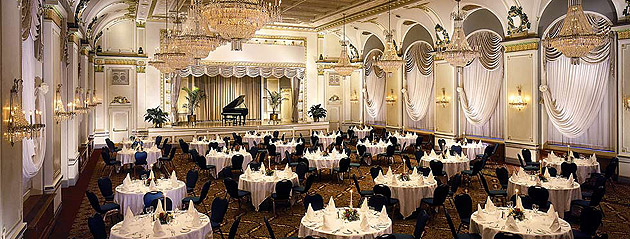 Cinderella may have wanted to avoid the prying eyes of her evil stepsisters at the Prince's Ball, but on her big day she'd definitely want to see and be seen. Luckily, three Fairmont properties are known for hosting high society soirées that would impress even the most dapper prince. In New York, The Plaza is famed for having hosted Truman Capote's glamorous Black and White Ball, while The Savoy in London has welcomed British Royalty for special events, galas and regal occasions for decades.