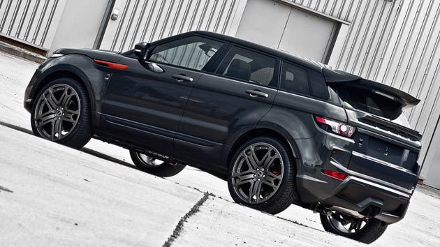 The philosophy of founder Afzal Kahn was always to combine mechanical perfection and exterior beauty, and the Dark Tungsten RS250 Range Rover Evoque's exterior styling is immediately recognisable with an outstanding package. This latest rendition of the highly successful SUV from Range Rover boasts a redesigned front bumper with an integrated spoiler and mesh inserts, body-coloured side sill trim, as well as side vent inserts and brake callipers finished in copper.