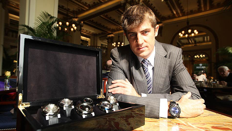Luxurious Magazine interviews Adrien Choux, owner of the Chinese Timekeeper watch brand.