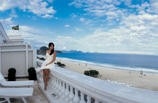 In sports-mad Rio, guests of the iconic Copacabana Palace can walk straight out of the beachfront property and onto the vibrant Copacabana Beach and have a go at two of the most popular spectator sports in the world – beach volleyball and football. Volleyball nets line the golden beaches and locals are only too happy to welcome tourists into a game and teach them the tricks of the sport. The majority of Brazil's population considers football as part of their lives, and their passion for the sport is evident. And with the World Cup due to take place in Rio in 2014, what better place could there be to take in a match of the beautiful game.