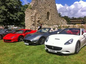 Cannonballers in an array of prestige cars recently gathered at the James Bond – Bond in Motion exhibition.