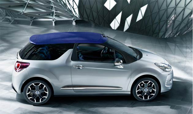 At the 2012 Paris Motor Show, Citroën will unveil the latest advance in the DS line, DS3 Cabrio, a cabriolet version of the multi-award winning DS3 that uses intelligent design to make top-down driving considerably easier and more enjoyable.