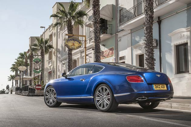 The new Continental GT Speed is the fastest road-car Bentley has ever produced and orders are being taken now, with deliveries scheduled to start in October 2012. Powered by Bentley's iconic 6-litre twin-turbo W12 engine, the GT Speed develops 625 PS (616 bhp) at 6000 rev/min – up 50 PS versus the standard Continental GT