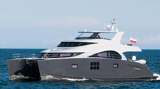 Sunreef Yachts launches its new power yacht, 60 Sunreef Power EWHALA. 1