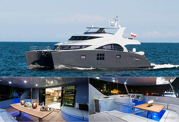 After the grand launch of the new superyacht, Sunreef 82 HOUBARA at the end of July 2012, Sunreef Yachts is delighted to announce the launch of its new power model, the 60 Sunreef Power EWHALA.