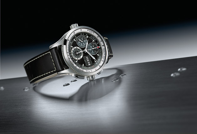 The Hamilton Khaki X-Patrol wrist watch - A portable cockpit for navigating lifestyles.