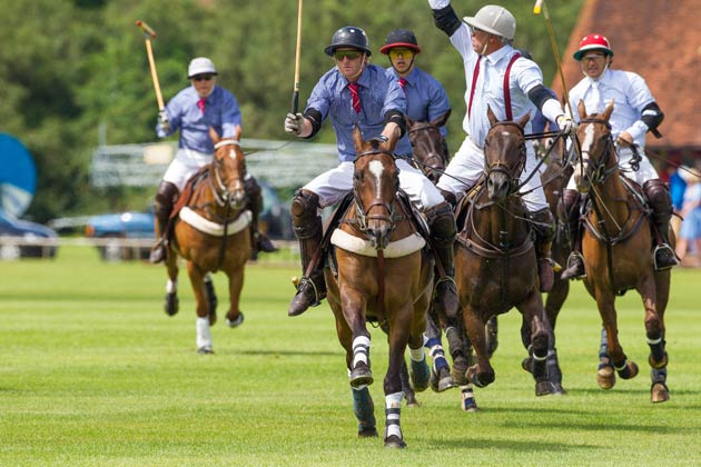 The 7th HERITAGE POLO CUP 2012 Final took place on 5th August 2012 at Hurtwood Park Polo Club in Ewhurst, Surrey owned by ex Who drummer, Kenney Jones.