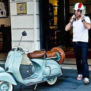 Jumeirah Group hosts its brand ambassador Rory McIlroy for an Exhilarating Ride through Rome.