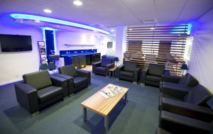 London Southen Airport, Londons newest international airport, opens the Stobart First Class Lounge.