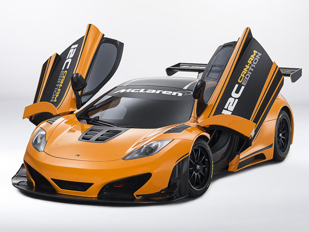 The one-off design study is finished in historic McLaren Orange and satin black, and is the debut appearance of a 12C racing variant outside Europe.