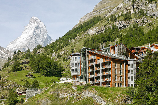 The Omnia is located in Zermatt, the quintessential alpine getaway, home of the legendary Matterhorn. The name of the hotel, meaning 'the all encompassing' in Latin, gives clues to the resort's inclusive design philosophy, where rooms are unnumbered to enhance the homely feel and private balconies offer spectacular views of the peaks. With a wide variety of winter adventures, from ice stick shooting to challenging ski and snowboard slopes like the 3800 metre Klein Matterhorn, there are more than enough opportunities to choose from.