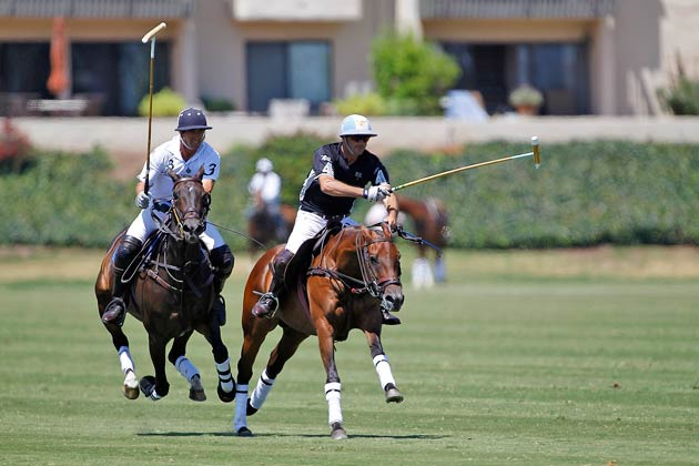 The final match of the USPA Piaget Silver Cup offered fans a thrilling afternoon of polo, as Lucchese came from behind to beat Mansour in the final chukker, winning by a score of 11 to 10.
