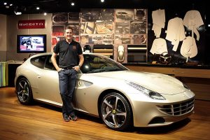 Meanwhile the first Tailor Made car in the USA will be handed over at Pebble Beach: an FF, which has been personalised by the famous British golfer Ian Poulter thanks to the innovative personalisation programme available from the Prancing Horse.