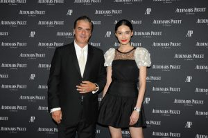 Famous American actor Chris Noth, renowned Chinese stars Hu Jun and Zhang Yuqi as well as international supermodels Du Juan, Chen Bike and Kang Qianwe all wore Royal Oak watches as tribute to the avant-garde hundred-year Manufacture.