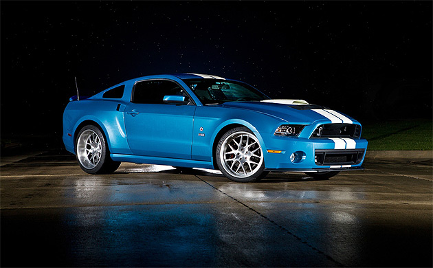 Friends of Carroll Shelby, including Ford Motor Company, Shelby American, Ford Racing and many others have built a unique 2013 Shelby GT500 Cobra as a tribute to the late Carroll Shelby.