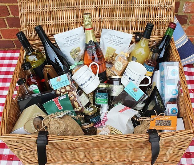 'Stuffed & Spoilt' the not-for-profit joint venture between Hadlow College and Kent County Council is now selling artisan luxury food hampers and gift boxes.